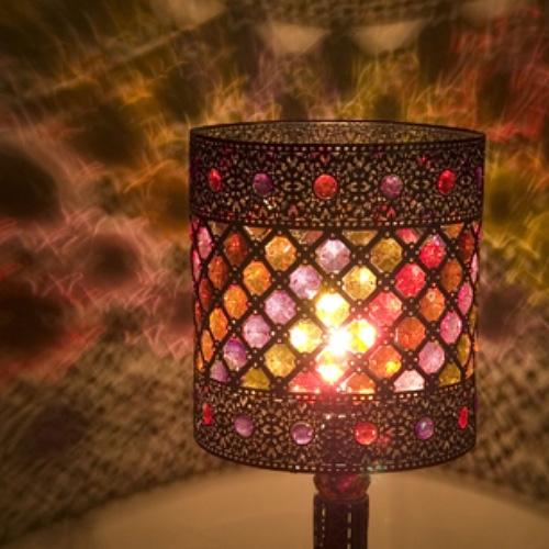 アンティーク調のジュエリーランプ・照明ライト