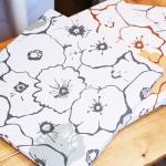花のイラストパネル