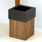 パームリディ編みのダストボックス ゴミ箱