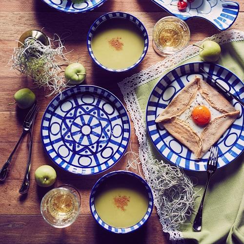 アラベスク調の北欧 食器