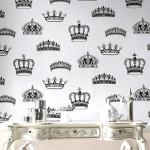 王冠イラストのクールな壁紙