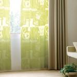 ガーデニングイラストのグリーンレースカーテン