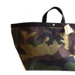 エルベシャプリエの迷彩柄バッグ