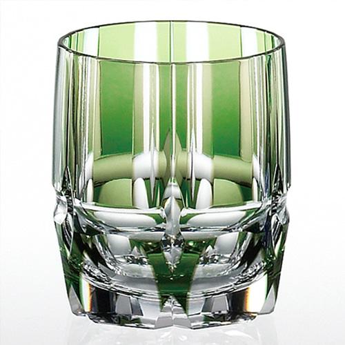 新緑の青竹をイメージしたロックグラス