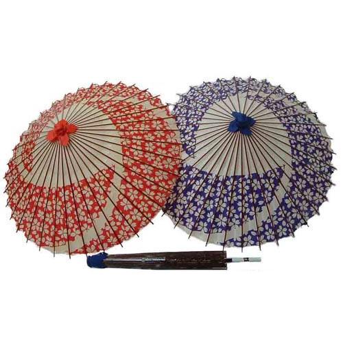 蛇の目 桜の傘