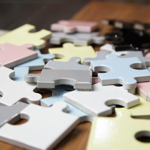 パズル型のタイルシール