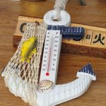 イカリ型の温度計