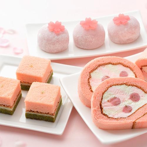 桜のスイーツ3種セット