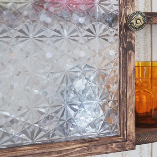 レトロなアンティークガラスシート