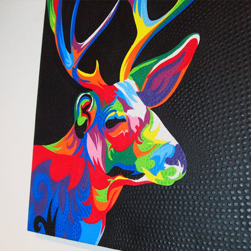 BALIドットアート 鹿