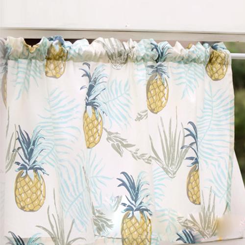 パイナップル カフェカーテン