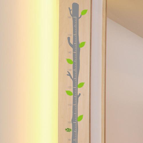 木の身長計 ウォールステッカー