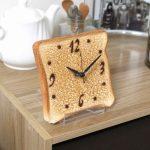 薄切トースト時計